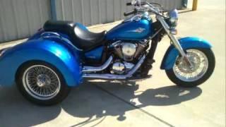9. Review: 2009 Lehamn Storm Trike powered by Kawasaki Vulcan 900 Classic