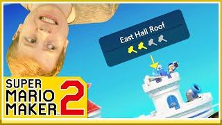 SÅ HIMLA NÄRA NU! - Mario Maker 2: Storymode #11!