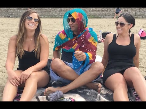 Phoolo and Samitra in America | Ep_2 - Beach | Lalit Shokeen Comedy |