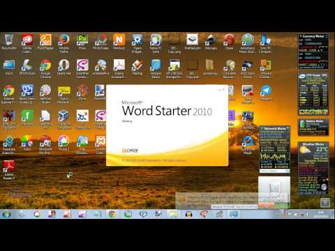 comment reparer word starter