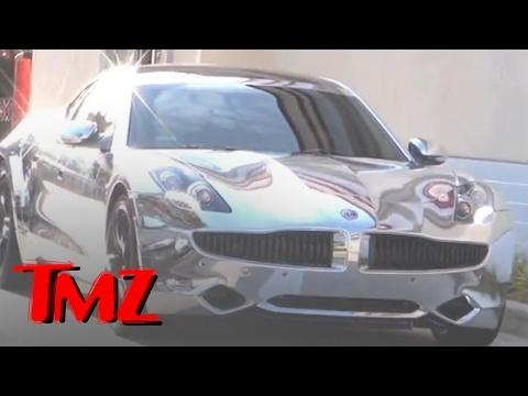 0 Justin Bieber Chromed His Fisker Karma Super Car