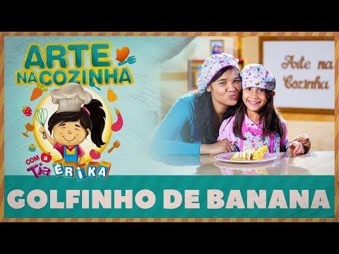 GOLFINHO DE BANANA | Arte na cozinha com a Tia Érika