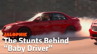 Video How The Stars Of Baby Driver Learned To Do Very Real Car Stunts MP3, 3GP, MP4, WEBM, AVI, FLV Januari 2018