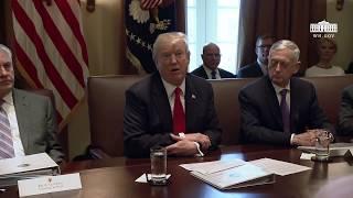 Video President Trump Holds a Cabinet Meeting MP3, 3GP, MP4, WEBM, AVI, FLV Januari 2018