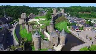 Fougeres France  city photo : Tour de France 2015 - Château de Fougères