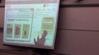 """Using """"Screen Delivery"""" to get a book online. This is the quickest way to get a book!This was a video I made for my Nature of Math class at Biola University on April Fools day. This is sort of making fun of Amazon Prime Air (delivery by drones). Thanks to Zach King and his Amazon Rocket Delivery parody for inspiration."""