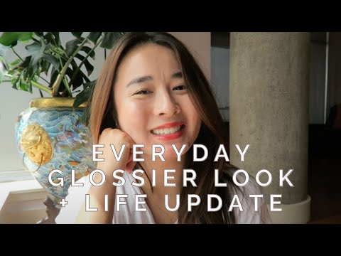 Everyday Glossier Look + Mini Life Update / Nicolebloopbloop