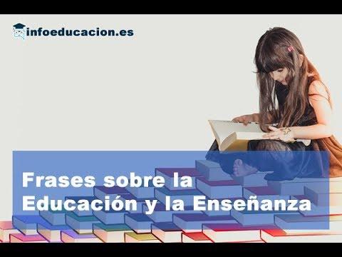 Frases celebres - Frases célebres sobre educación