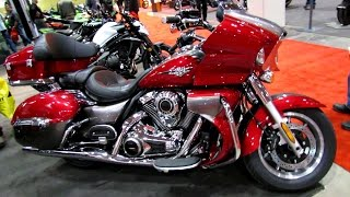 6. 2014 Kawasaki Vulcan 1700 Voyager ABS Walkaround - 2014 Toronto Motorcyle Show