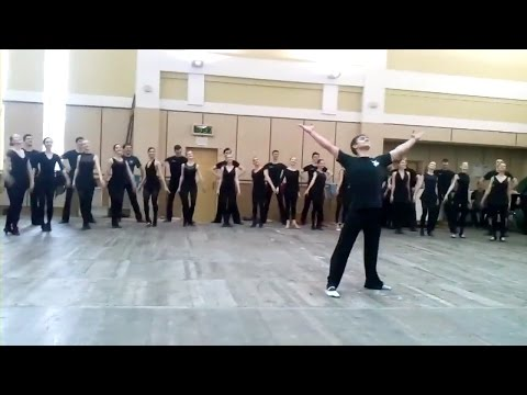 Impressive and Athletic Slavic Dancing