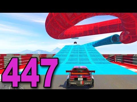 Grand Theft Auto 5 Multiplayer - Part 447 - INSANE CUSTOM RACE!