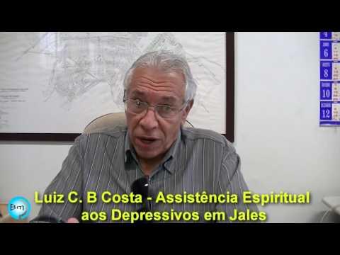 Jales - Conversamos com Dr Luiz. C. B. Costa, sobre Assistência Espiritual aos Depressivos