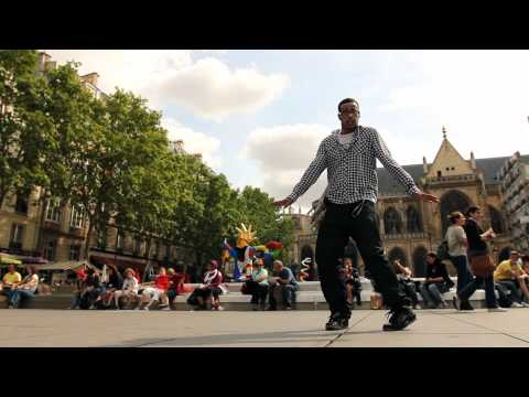 Popping - урок от Нельсона, Париж