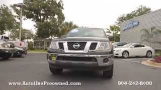 Autoline Preowned 2011 Nissan Frontier SV For Sale Used Walk Around Review Test Drive Jacksonville