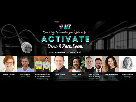 River City Labs Activate Cohort 2 Pitches