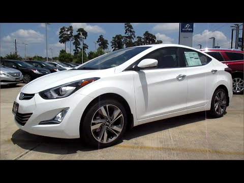 2014 Hyundai Elantra Limited w/ Navi Full Review