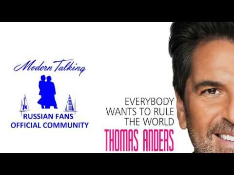 Tekst piosenki Thomas Anders - Everybody Wants To Rule The World(Short Version) po polsku