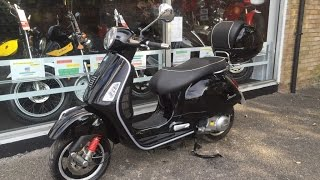 5. Piaggio Vespa GTS 300 IE Super Black 2010