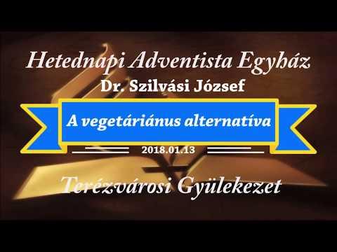 Vegetáriánus alternatíva    dr. Szilvási József    2018.01.13