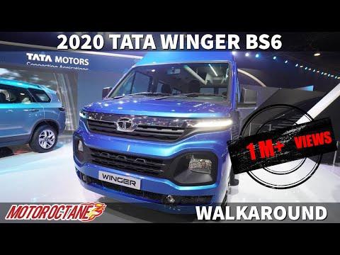 2020 Tata Winger BS6 - Zabardast! Hindi   Auto Expo 2020   MotorOctane