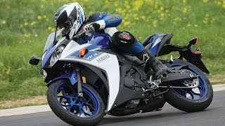 8. 2015 Yamaha YZF-R3 Review