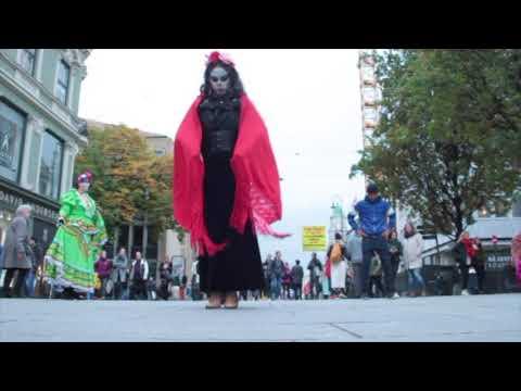 Flashmob Catrines - Día de muertos