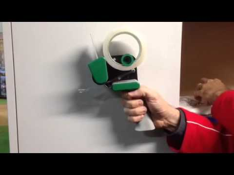 How to load a Noise Reduction Tape Gun