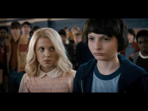 Stranger Things - Eleven Make Troy Piss Himself (HD 1080p)