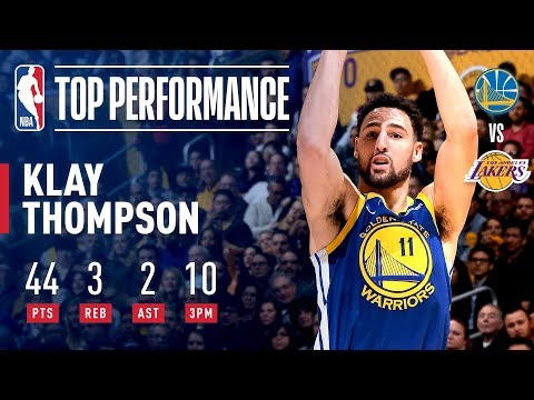Video: Klay Thompson Scorches The Net From Long-Range | January 21, 2019