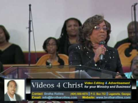 Dr. Lorraine J. White Speaks... 'Don't Let Others Define You'
