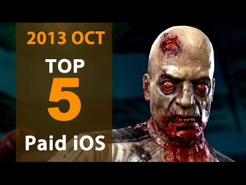 5 Best Paid iPhone & iPad Games for October 2013