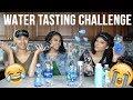 WATER TASTING CHALLENGE 💦 😂🤔😟 *BLIND FOLDED*