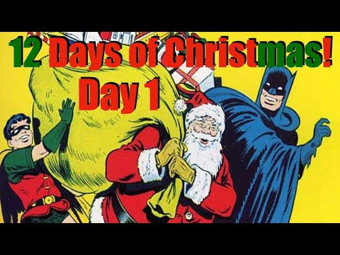 12 Days of Christmas: DAY 1!  White Whale Comics & John's Comics With Kids!