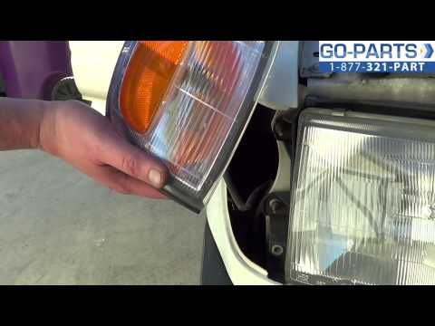 Replace 1996-2002 Toyota 4Runner Side Marker Light / Bulb, How to Change Install 1997 1998 1999 2000
