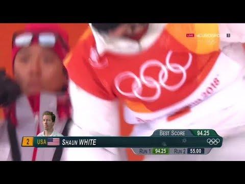 Shaun White, el 'tomate volador', hace historia al conseguir el oro