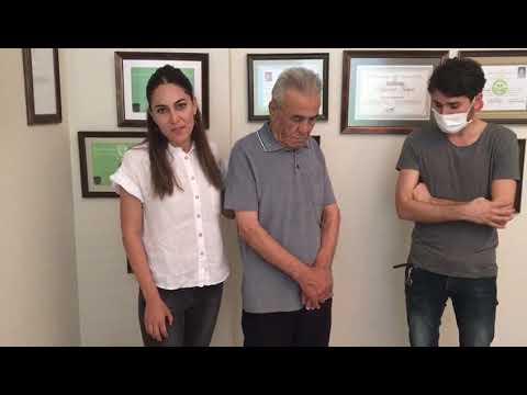 81 YAŞINDAKİ İSMAİL AMCA, PROF. DR. ORHAN ŞEN'İN YAPTIĞI KRİTİK AMELİYATLA YAŞAMA TUTUNDU