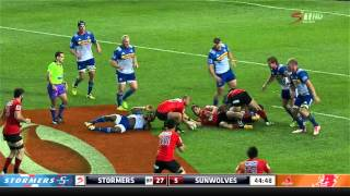 Stormers v Sunwolves Rd.7 2016 | Super Rugby Video HIghlights
