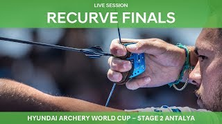 Live Session: Recurve Finals   Antalya 2018 Hyundai Archery World Cup S2