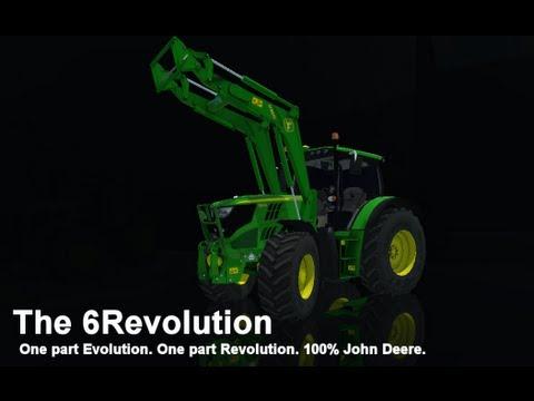 [WIP] John Deere 6150R. Farming Simulator Mod Contest 2013 [LS13] [FS13]