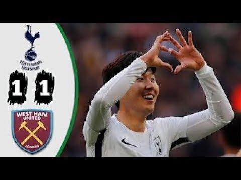 Tottenham vs West Ham 1-1 | All Goals & Highlights | Copa del Rey - 04/01/2018 HD
