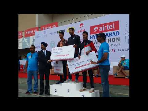 Airtel Hyderabad Marathon 2017 Winners