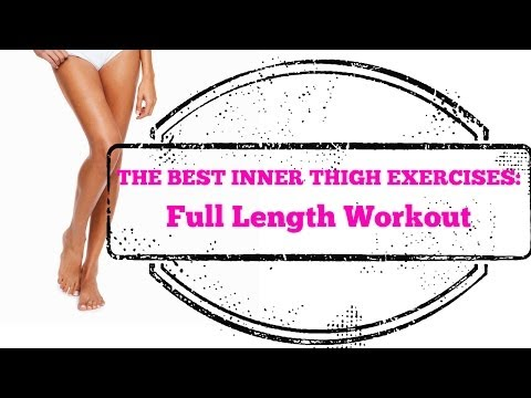Best Inner Thigh Exercises EVER  – Full Length 10-Minute Home Workout