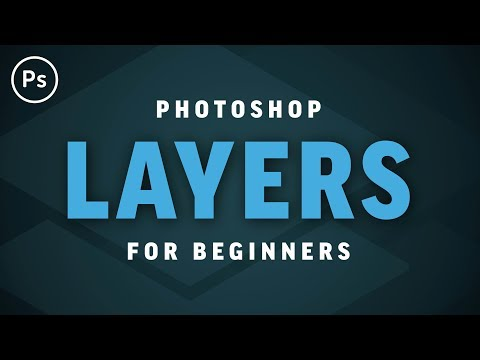 Layers For Beginners | Photoshop CC Tutorial