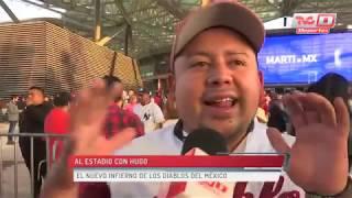 Al Estadio con Hugo - Los Diablos inauguraron su nueva casa