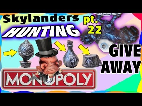 Exclusive Skylanders Monopoly Set Contest + Hunting for Purple Eye Brawl (Sidekicks Contest Ann.)