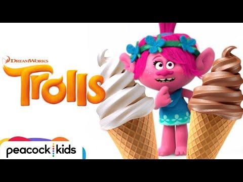 Chocolate VS Vanilla | Troll 2 Troll | DREAMWORKS' TROLLS