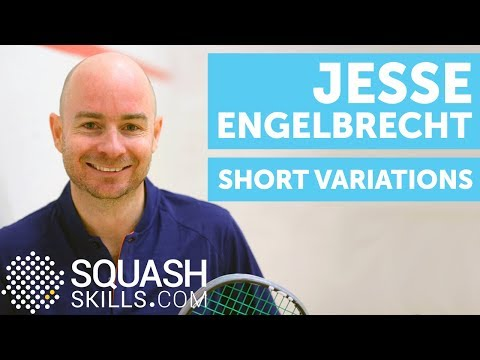 Squash coaching: Short variations with Jesse Engelbrecht