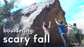 My first scary fall Climbing Experience by  rockentry