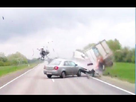 Подборка аварий и дтп  Май 2016