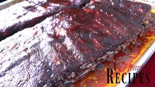 Recipe:http://iheartrecipes.com/best-oven-baked-bbq-ribs-how-to/ How to make the best southern style oven baked bbq ribs.